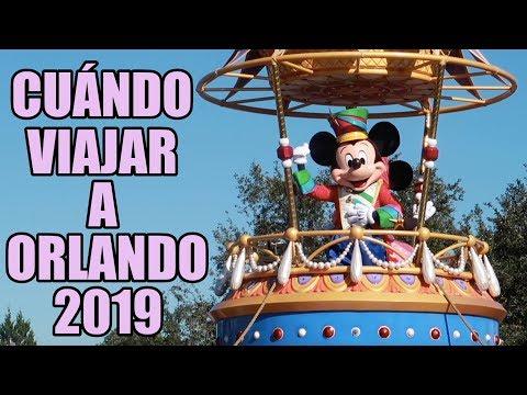 Calendario De Multitudes Disney 2019.Cuando Viajar A Orlando En 2019 Chemagic